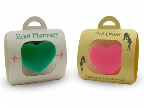 Big Heart Soap + Sachet