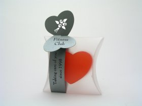 Small Heart Soap + thin strap with tops