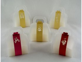 Christmas 3 - 2 Soaps 15gr. in a box + Strap