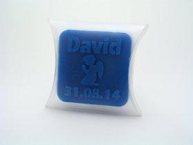 Prendas de batizado personalizado | Sabonete caseiro pequeno - TugaSoap