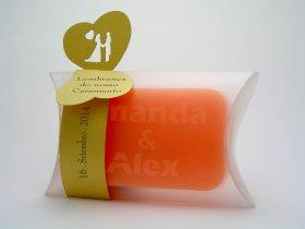 Sabonete Longo + Cinta decorativa com topos