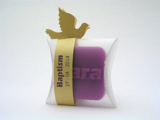 Sabonete pequeno personalizado | TugaSoap