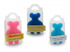 Teddy Bear Soap + Strap