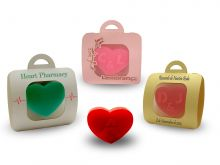 Small Heart Soap + Sachet