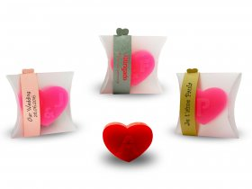 Small Heart Soap + thin strap