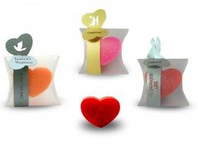 Coração Pequeno + Cinta fina com topos