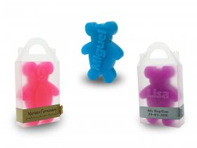 Teddy Bear Soap + Thin Strap