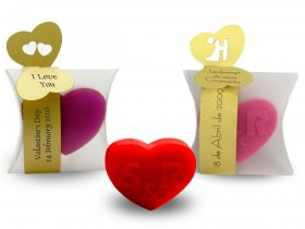 Small Heart Soap + Strap with tops